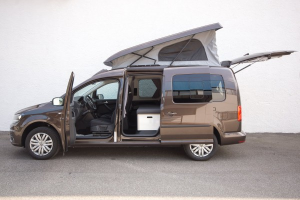 Minicamper Caddy Camp Maxi su base Volkswagen VW Caddy Maxi