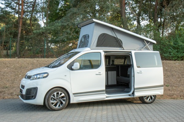 Schlafdach / Aufstelldach für Citroen Spacetourer, Peugeot Traveller, Toyota Proace komplett