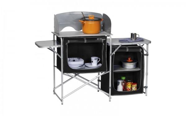 Alu Campingküche mit 2 Schränken