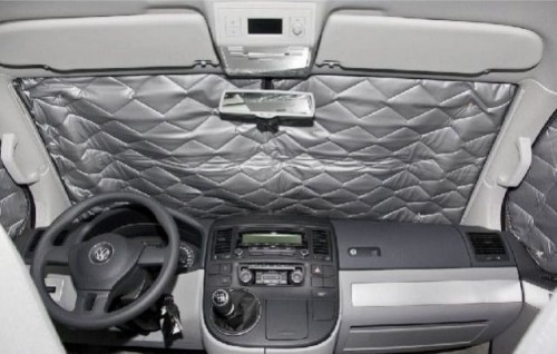 Oscuranti termici interni per Citroën Spacetourer, Peugeot Traveller e Toyota Proace tutti finestrini 8-pz.