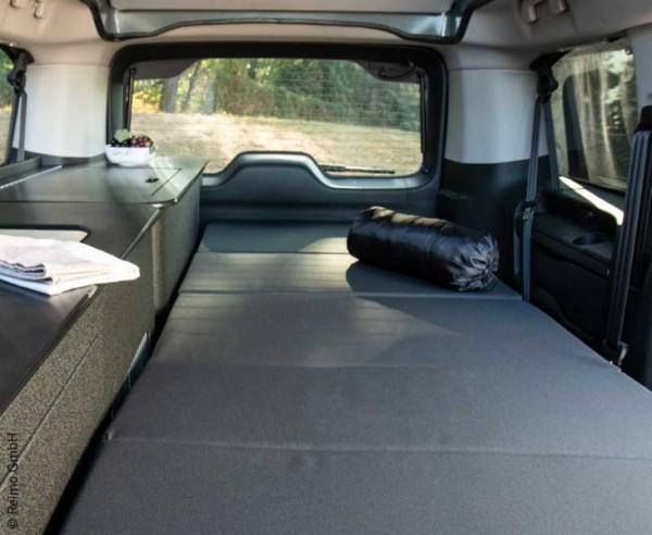 Bett Anlage für Spacetourer, Traveller, Proace und Zafira D in Kombination mit Möbelzeile