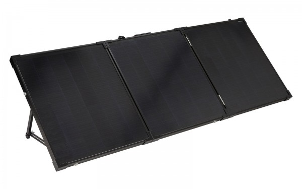 Solarkoffer 150 Watt inklusive Solarregler Regler und 2 Anschlußkabel