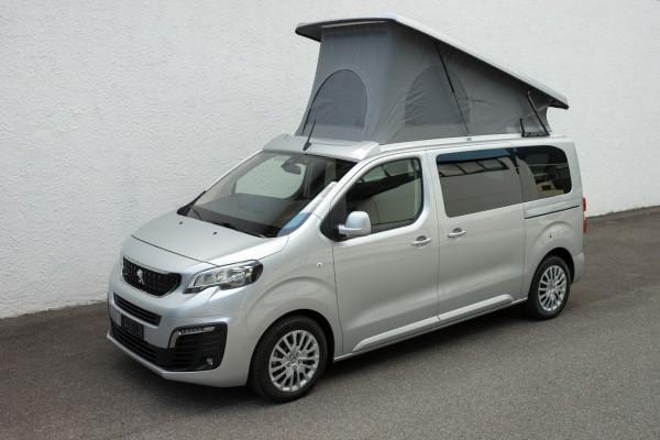 Peugeot Traveller mit Aufstelldach