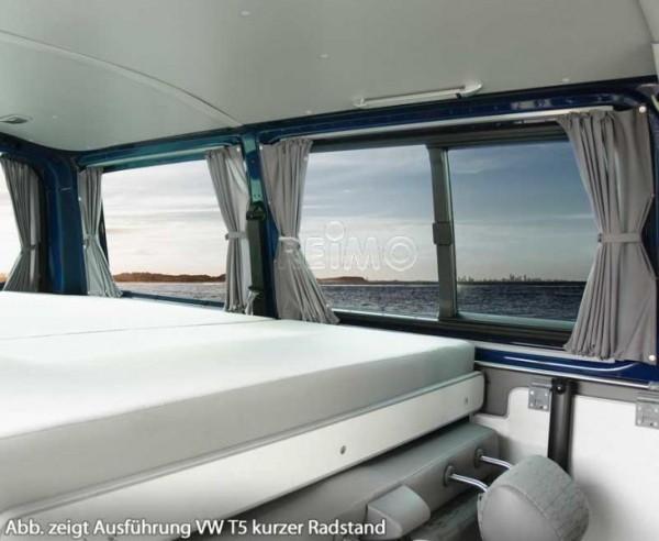 Blickdichte Vorhänge VW Caddy, Set für alle 5 Fenster