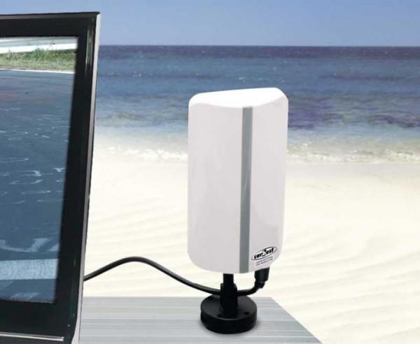 Antenna mobile terrestre DVB-T2 per Outdoor, Auto, Camper, Mobilhome e barca