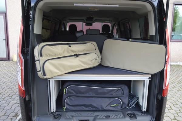 Borsa laterale per finestrino posteriore destra o sinistra per Ford Tourneo Custom passo corto