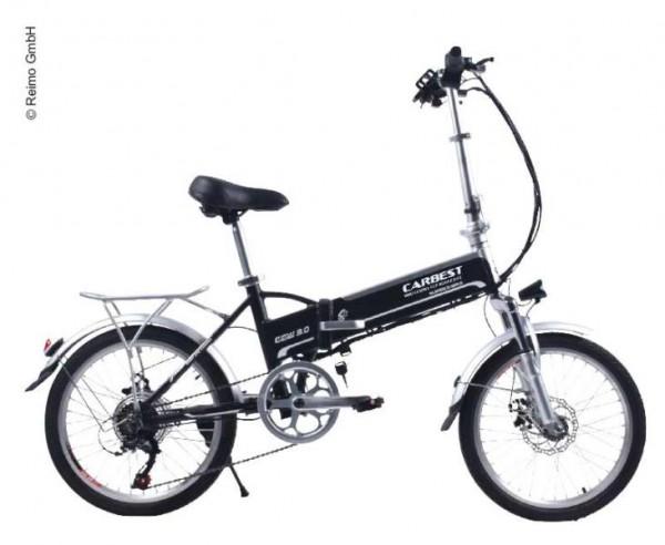 Bici elettrica pieghevole con cambio 6-marce Shimano