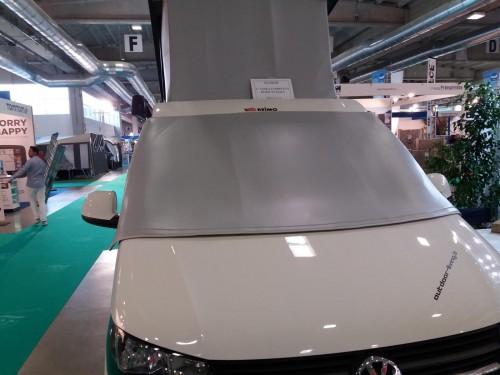 Thermoschutz außen Fahrerhausscheiben mit Seitenfenster Volkswagen VW T5 / T6