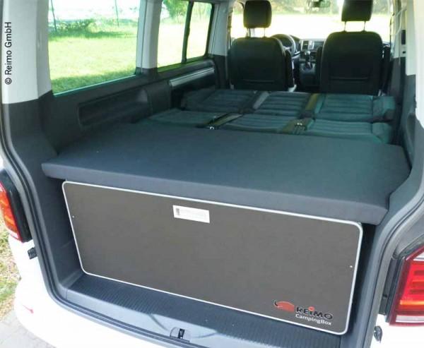 Komfortpolster für VW T5 / T6 California Beach und Multivan Flexboard und Heckmöbel/Küche einteilig