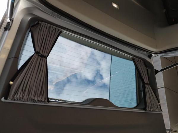 Vorhang-Set komplett für den Ford Tourneo Custom, für alle 5 Fenster