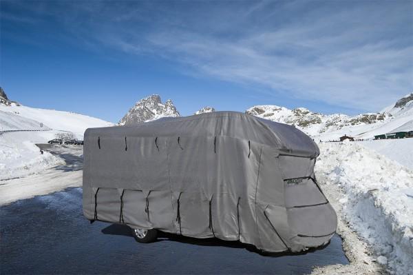 Copertura protezione camper e furgone camperizzato per inverno fino lunghezza 650 cm