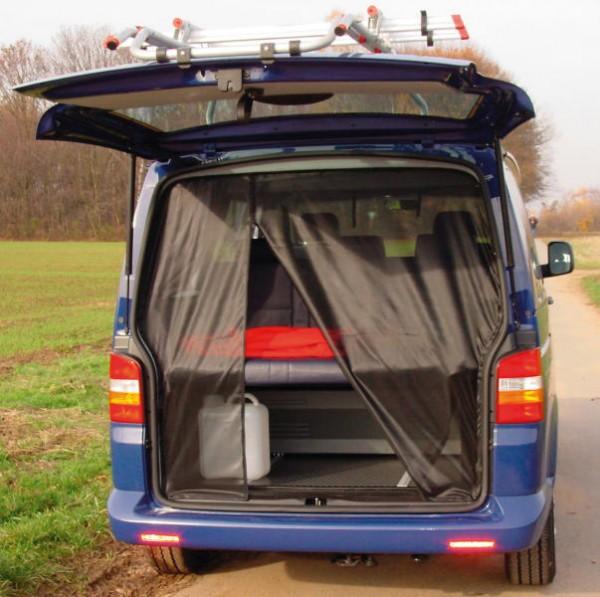 Moskitonetz für die Heckklappe VW T5 / T6 Multivan,California und California Beach