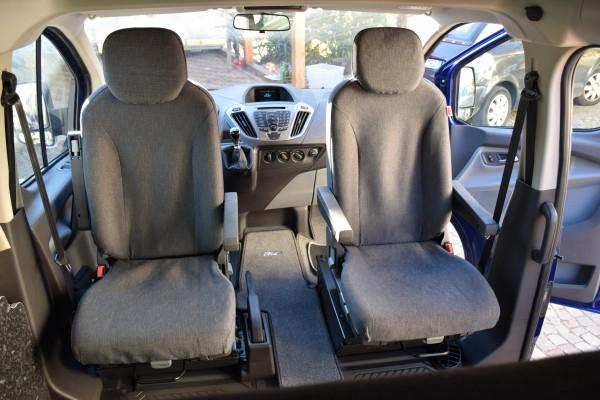 Sitzbezüge maßgefertigt für Ford Custom Nugget