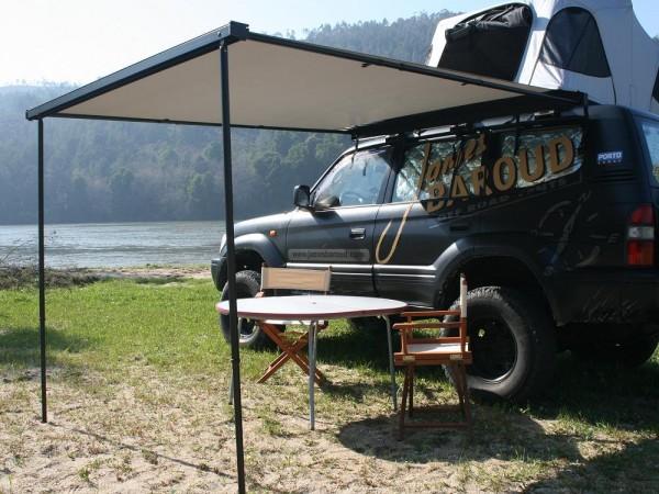 Tendalino con ingresso tenda