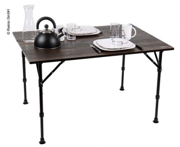 Tavolo pieghevole da campeggio Luxury per Minicamper con design molto elegante
